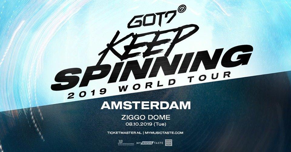 GOT7 2019 World Tour 'Keep Spinning'