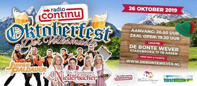 Radio Continu Oktoberfest der Volksmusik