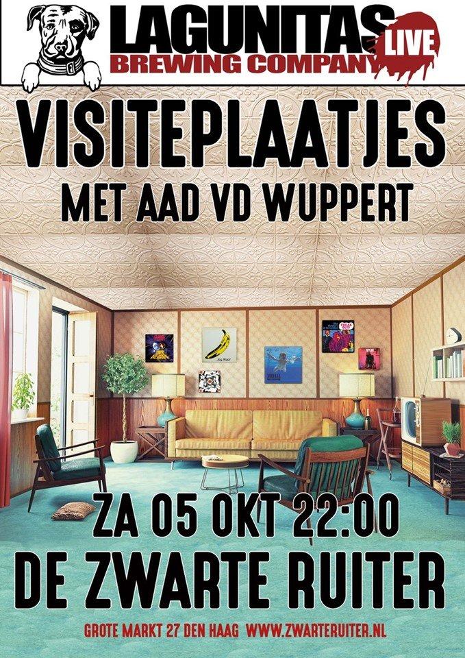 Visiteplaatjes #5 met Aad vd Wuppert