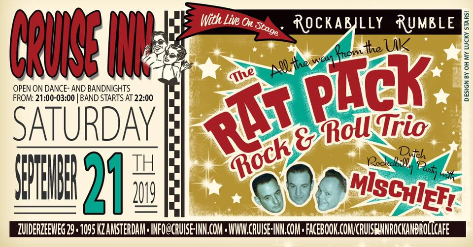 The Rat Pack Rock & Roll Trio UK & Mischief!