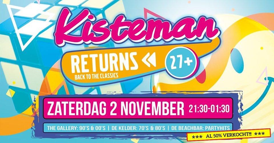 Kisteman Returns • Back To The Classics • 27+