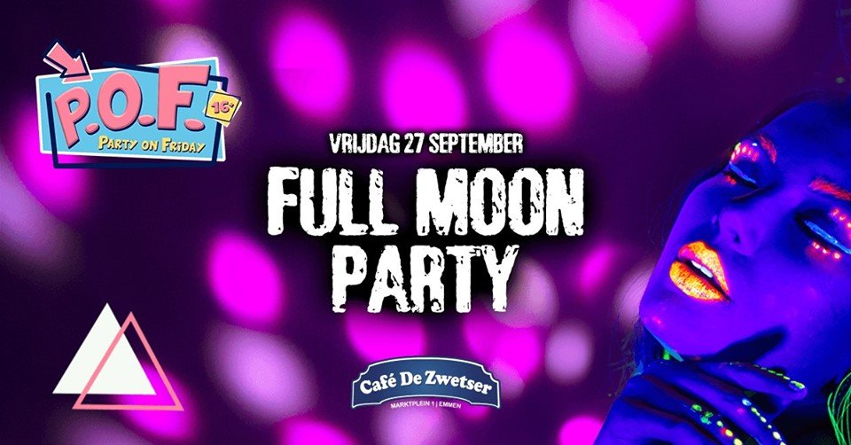 Party on Friday x Full Moon (16+)