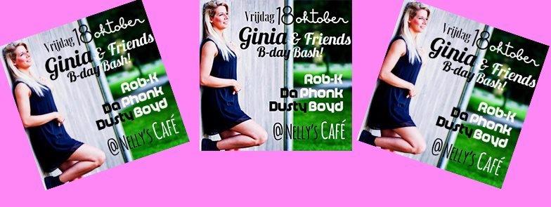 DJ Ginia Birthday Bash