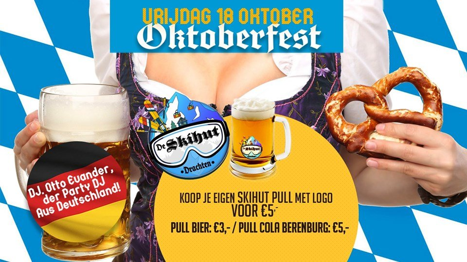 Skihut Oktoberfest PULL Party!
