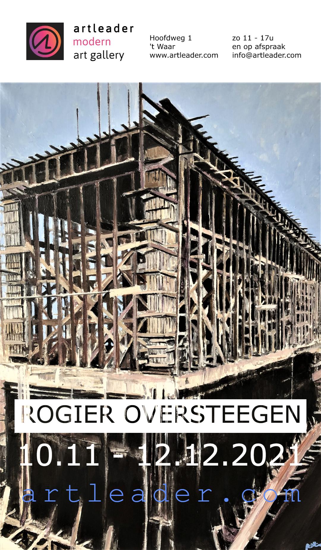 Expositie Rogier Oversteegen