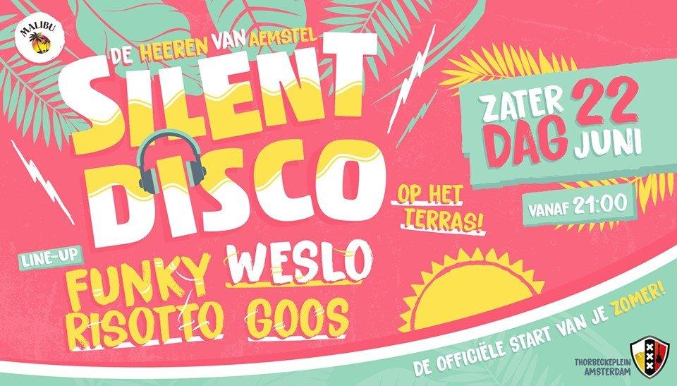 Silent Disco - Officiële start van je zomer!