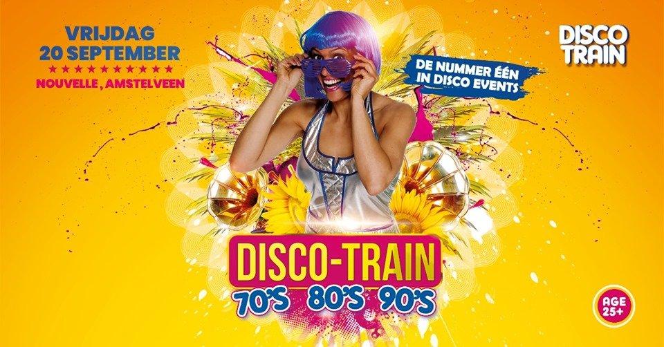 Disco Train 70's, 80's & 90's