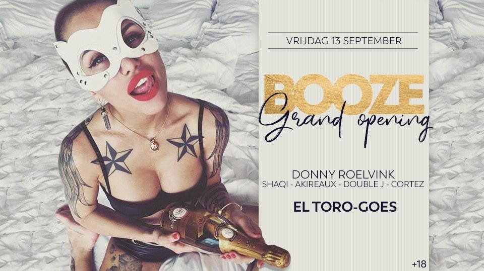Booze (Grand Opening): Donny Roelvink