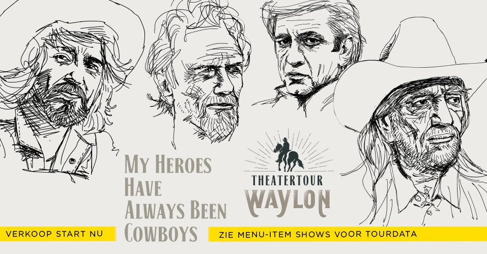 Waylon - My heroes have been always cowboys
