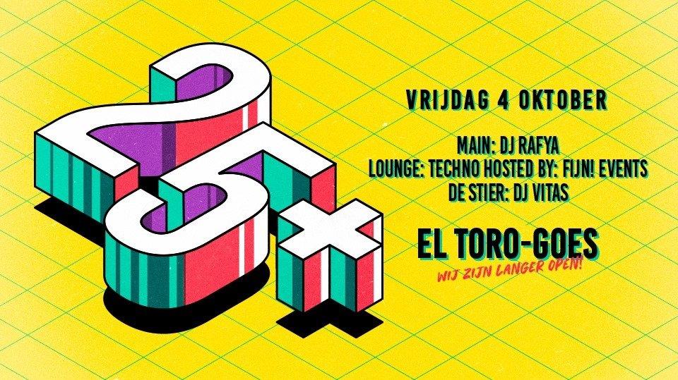 25+ | El Toro Goes
