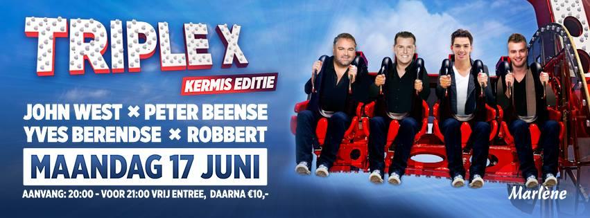 Triple X: John West, Yves Berendse, Peter Beense & Robbert
