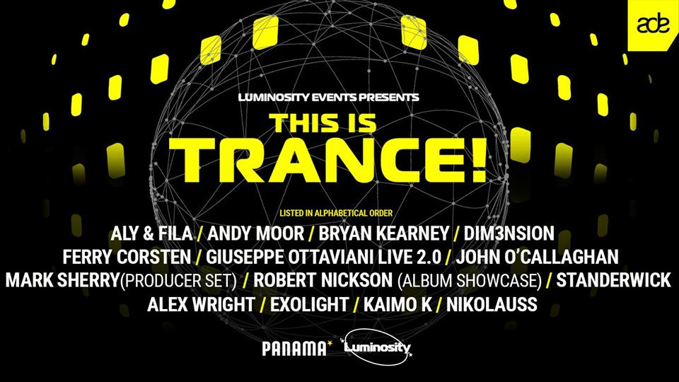 Luminosity Events: This Is Trance!