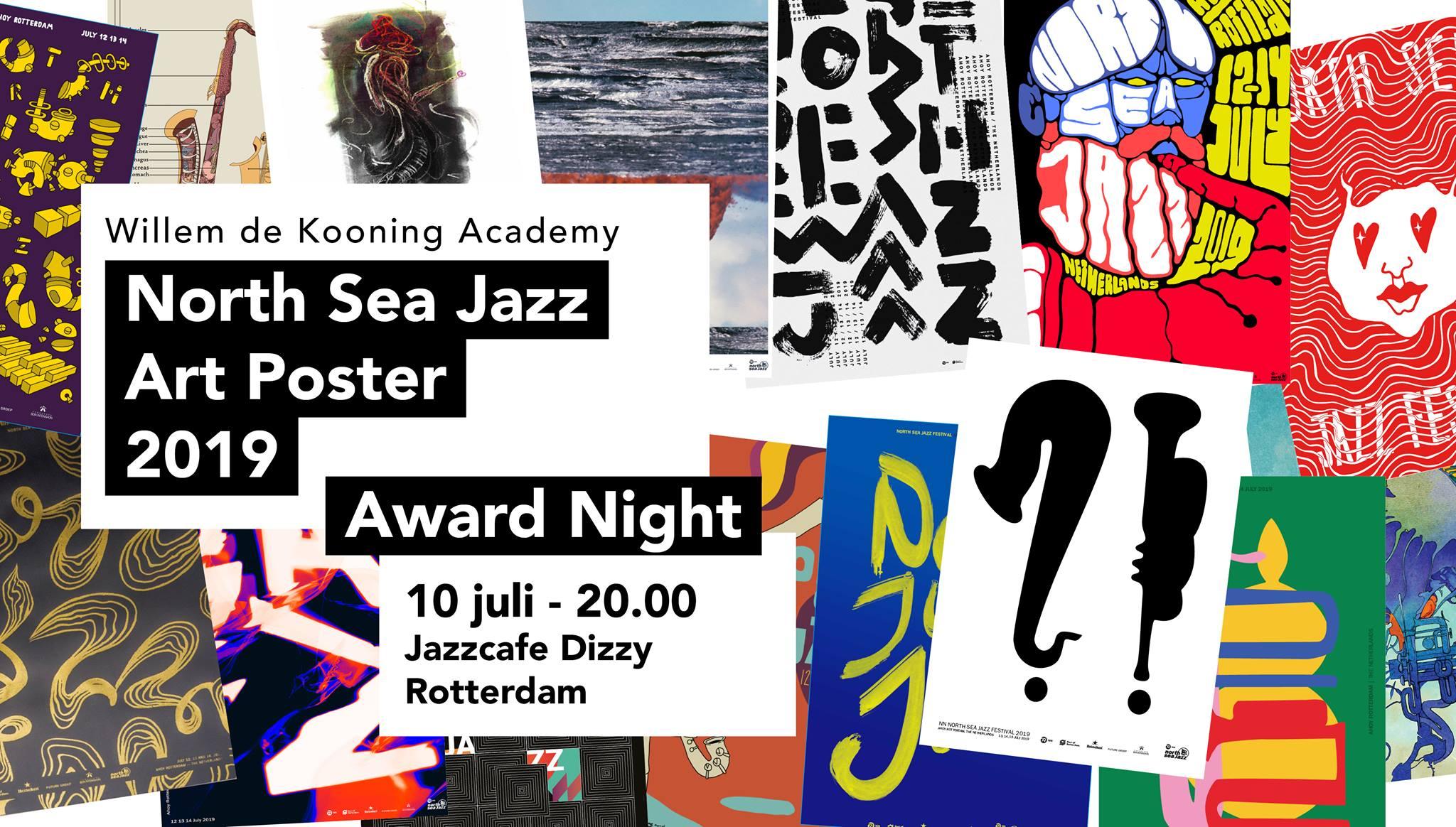 North Sea Jazz Art Poster Award Night
