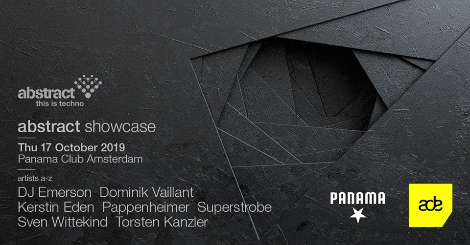 Abstract Showcase at ADE