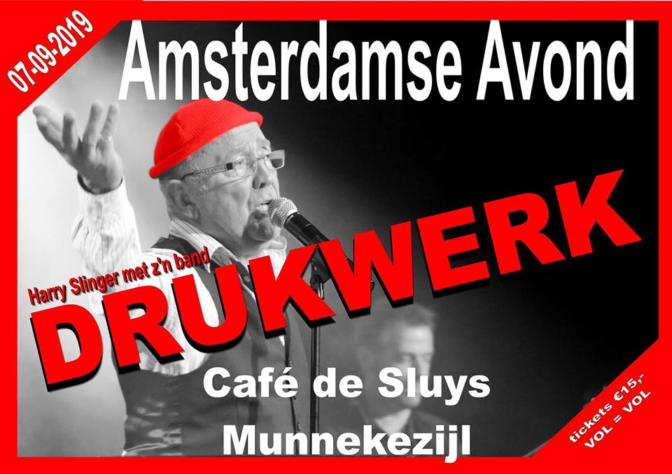 Amsterdamse Avond: Drukwerk
