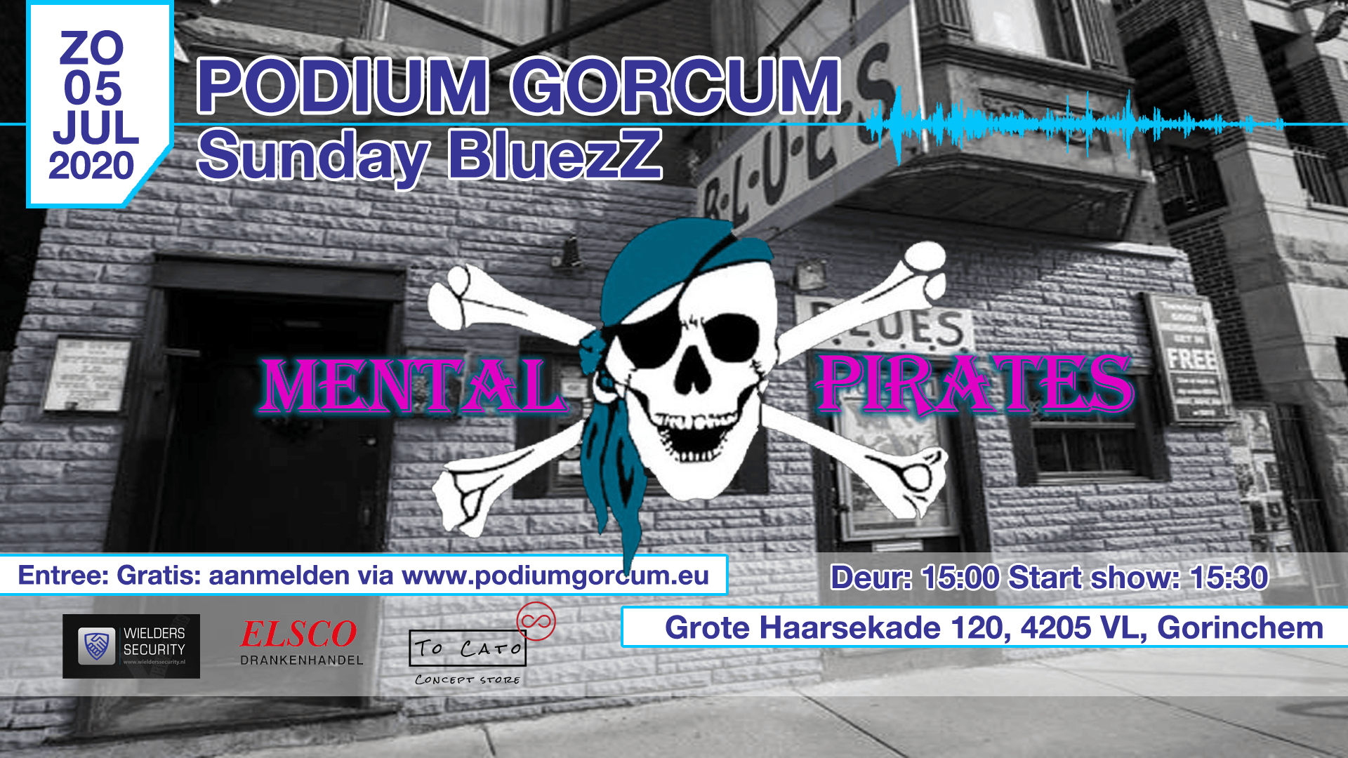 Sunday BluezZ met: Mental Pirates