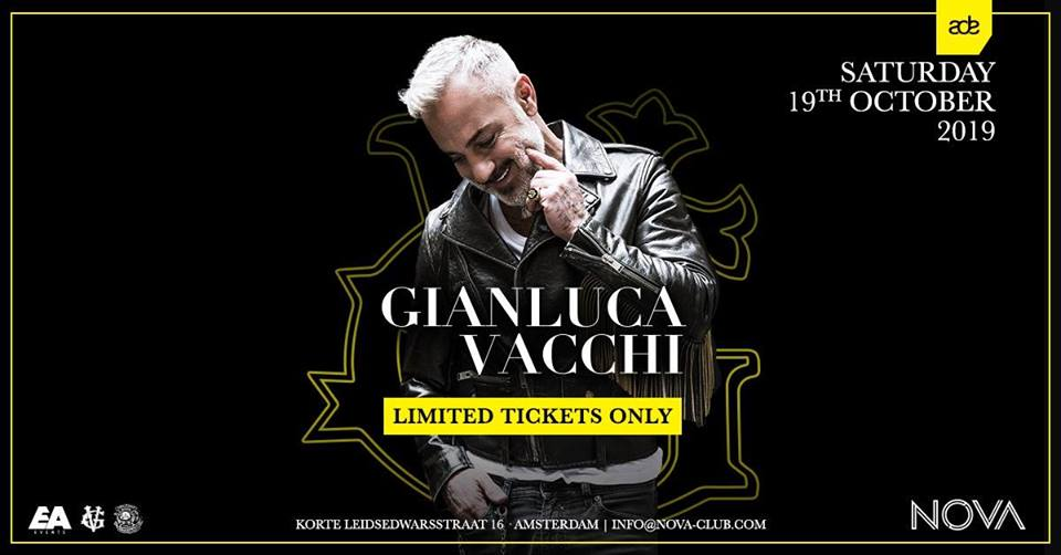 ADE 2019 • Gianluca Vacchi & Friends