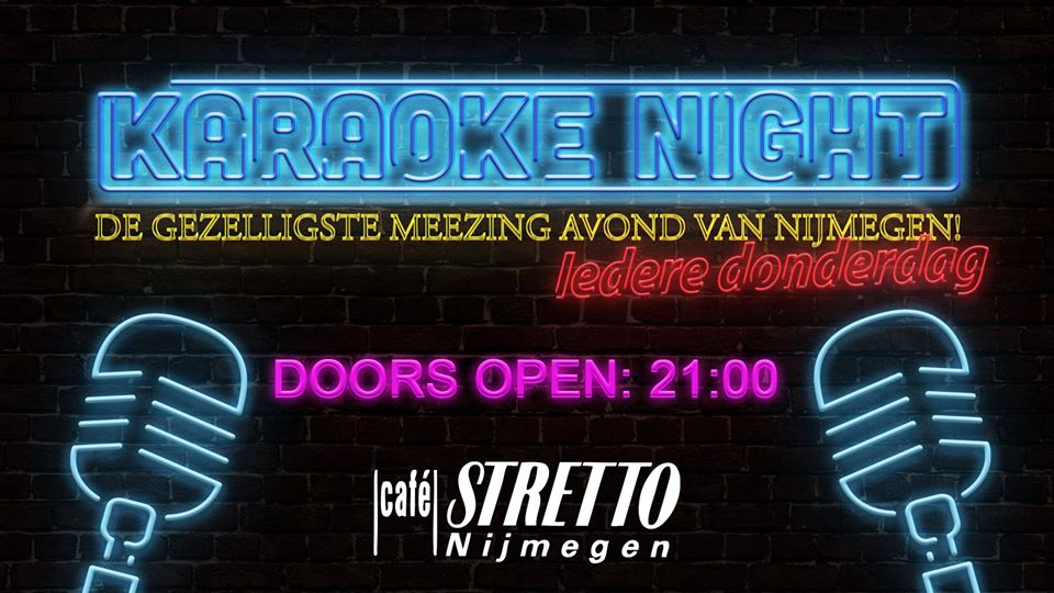 Stretto's Karaoke Night