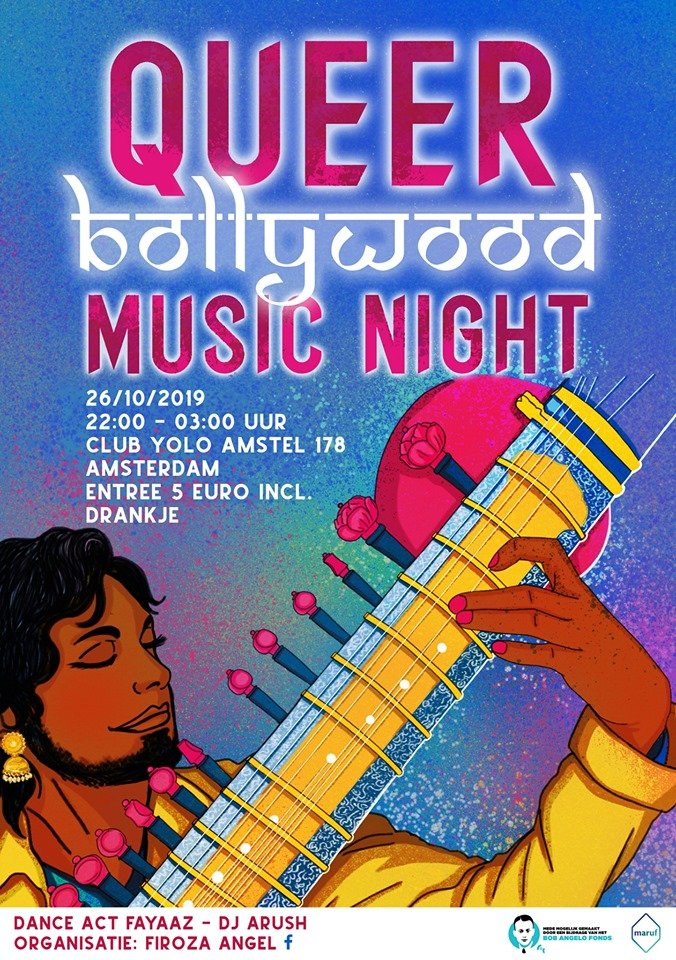 Queer Bollywood Music Night