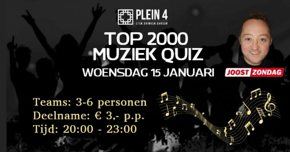 TOP 2000 Muziek QUIZ