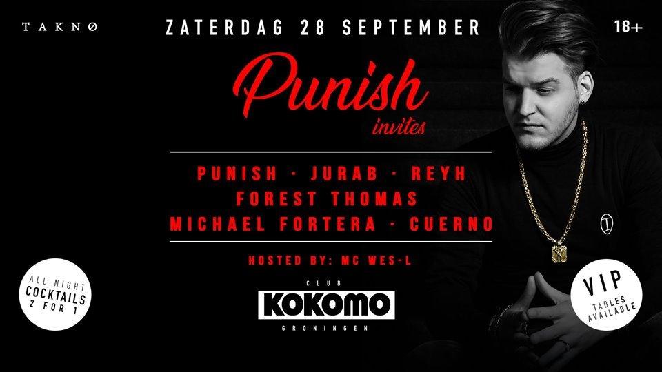 Kokomo Invites: DJ Punish & Friends