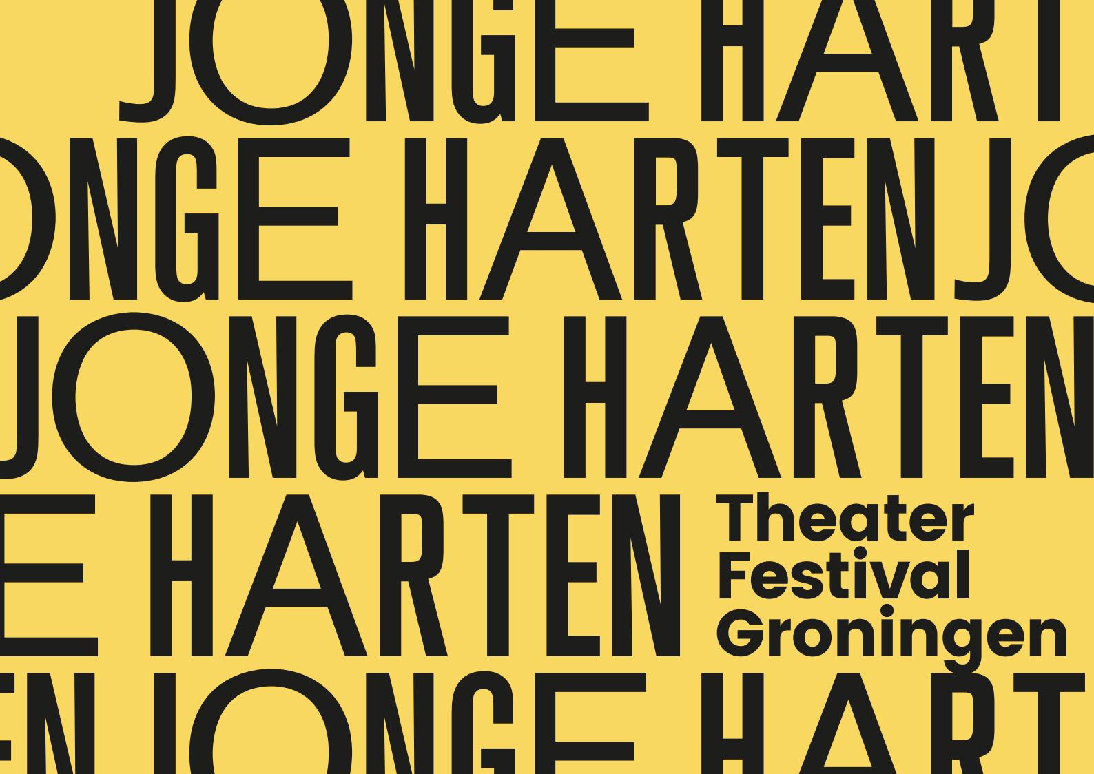 Jonge Harten Theaterfestival 19 t/m 27 november