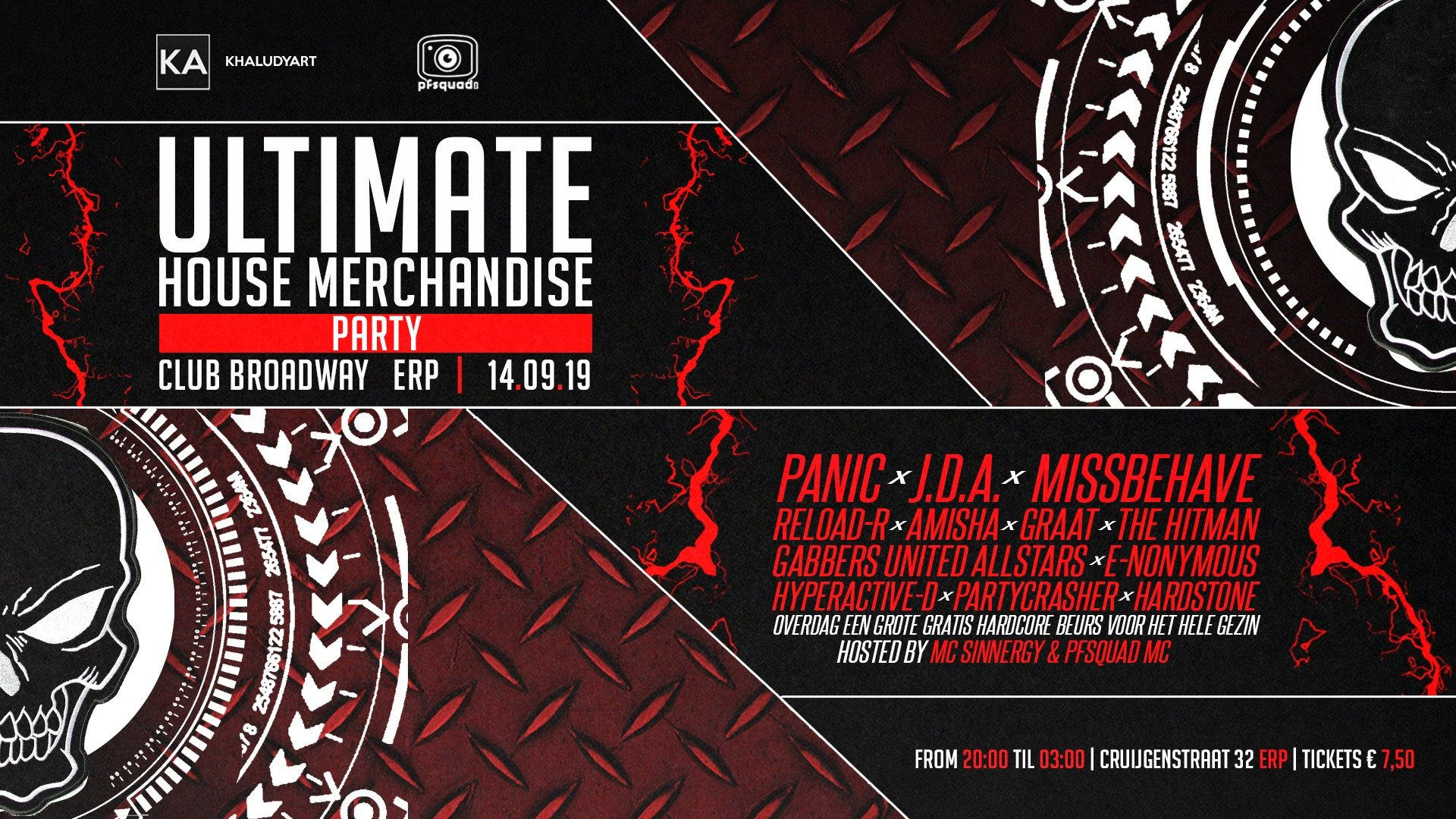 Ultimate House Merchandise - Party