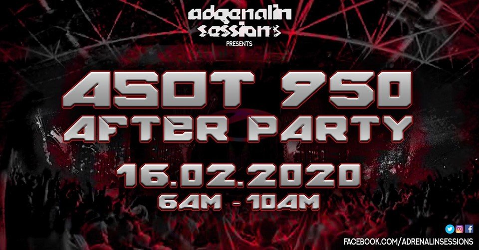 Adrenalin Sessions Pres. ASOT 950 After Party
