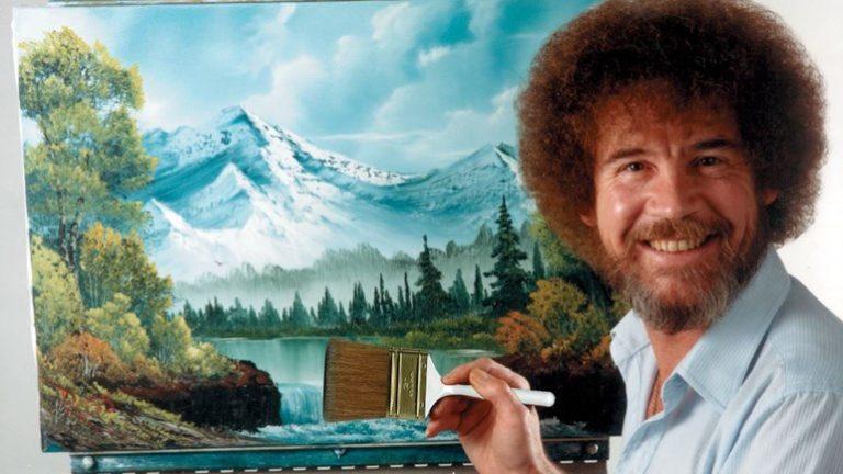 Bob Ross – Happy Painting