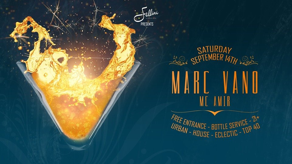 Fellini Clubnight | Marc Vano & MC Amir