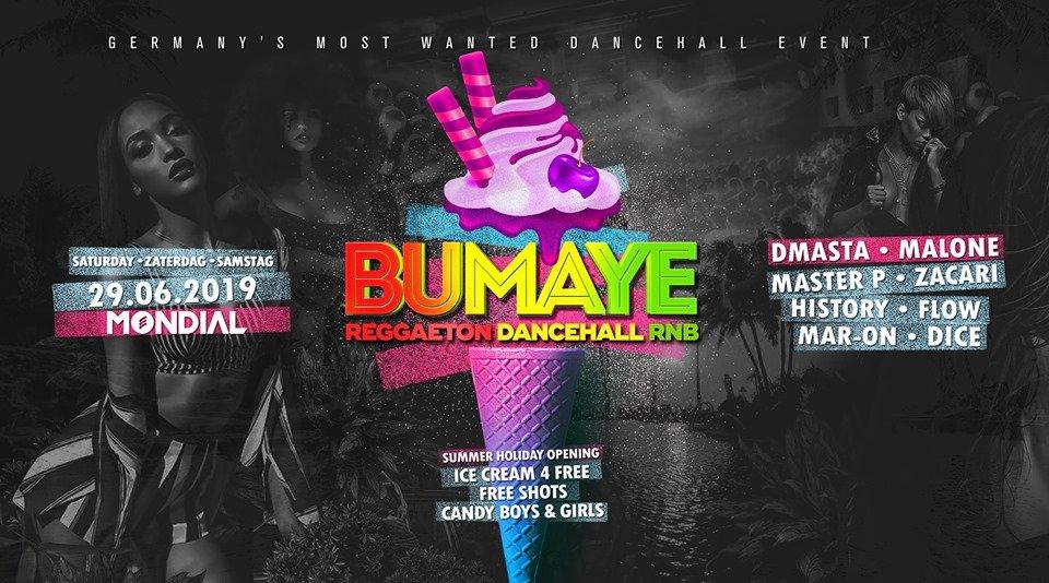 Bumaye • Dancehall Summer Night