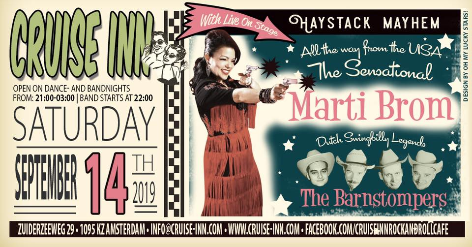 Marti Brom + The Barnstompers