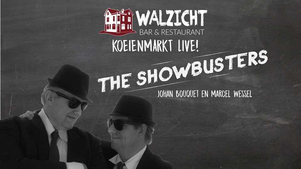 Koeiemart live: The Showbusters