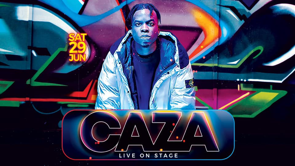 CAZA Live on stage!