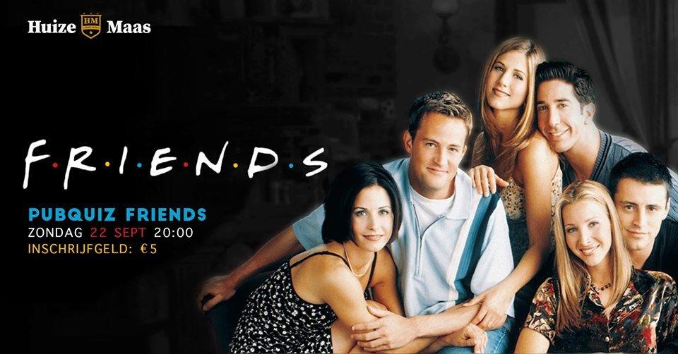 Het grote 'Friends' pubquiz spektakel!