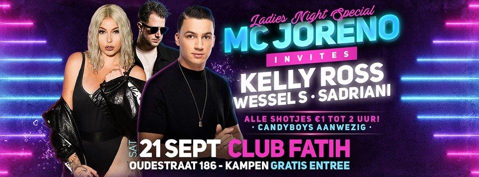 Mc Joreno invites Ladies Night Special