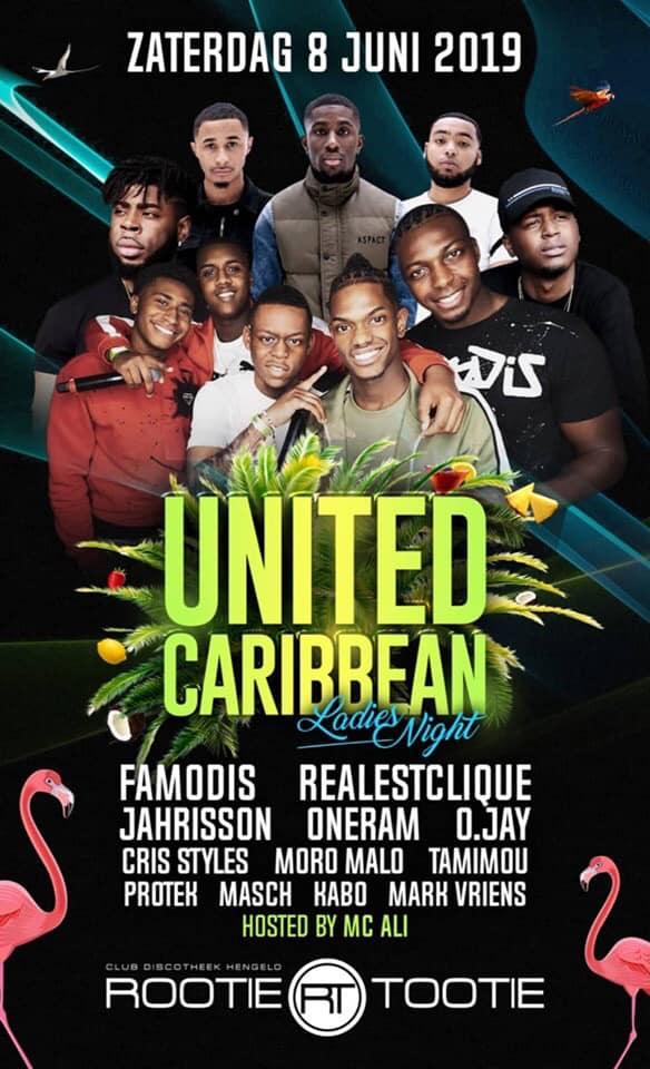 United Caribbean Ladies Night Edition!