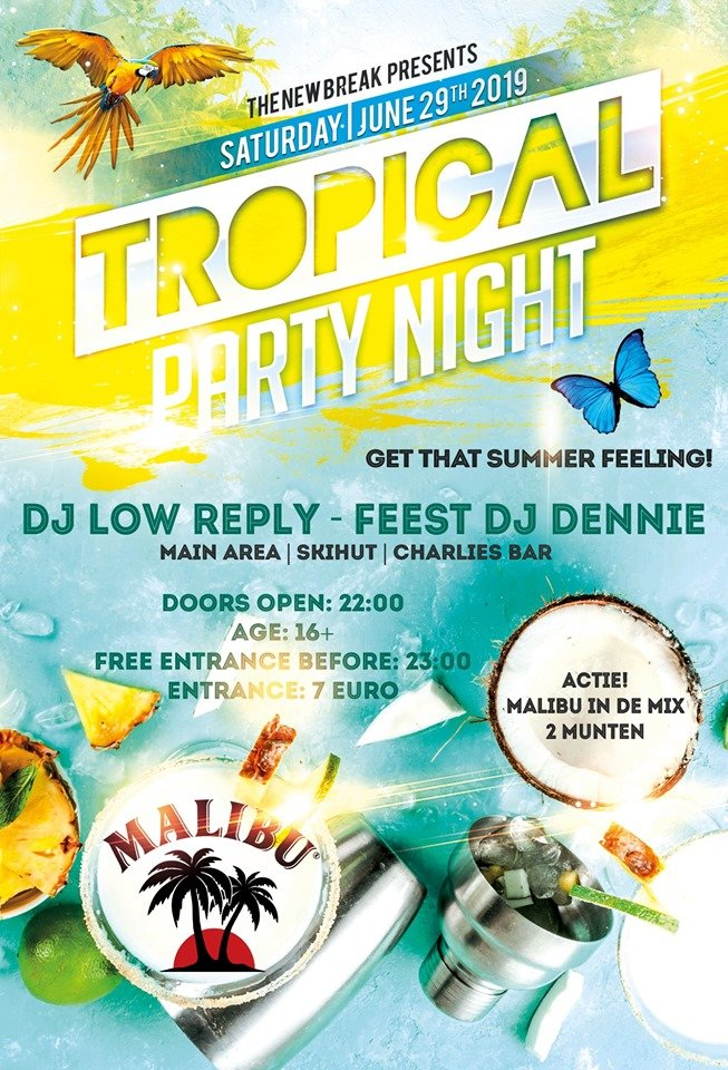 Tropical Party night