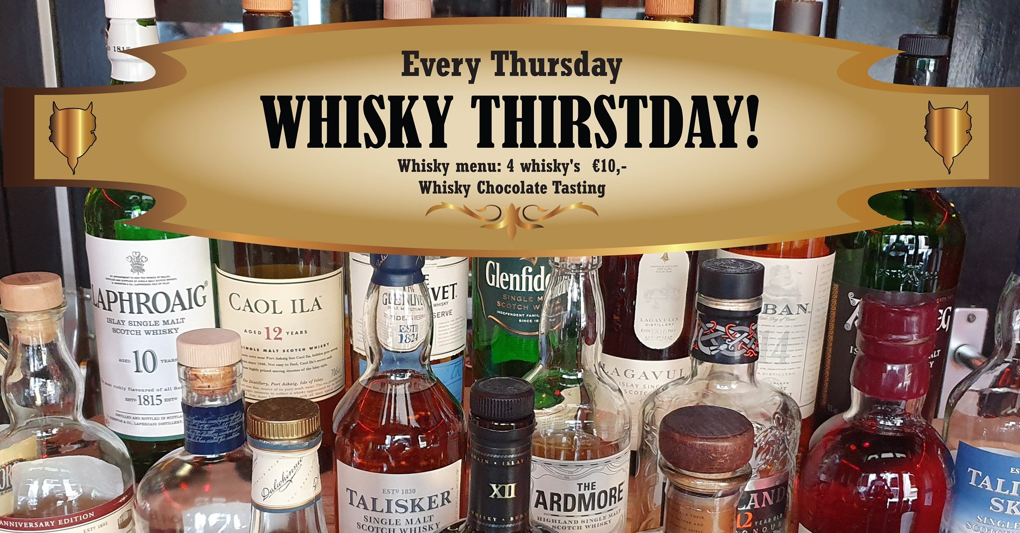 Whisky Thirstday!