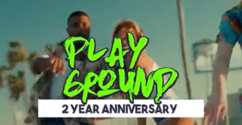 Playground 2 jaar!
