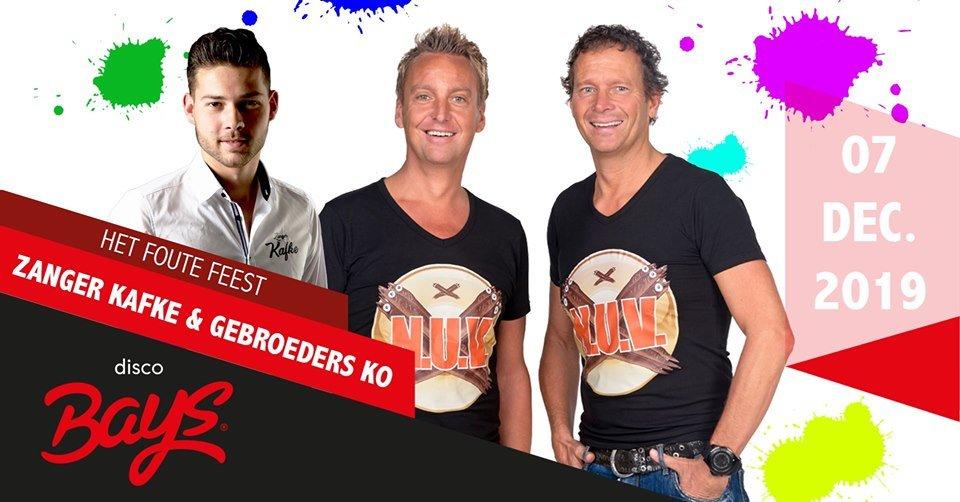Het foute feest:  Zanger Kafke & Gebroeders Ko