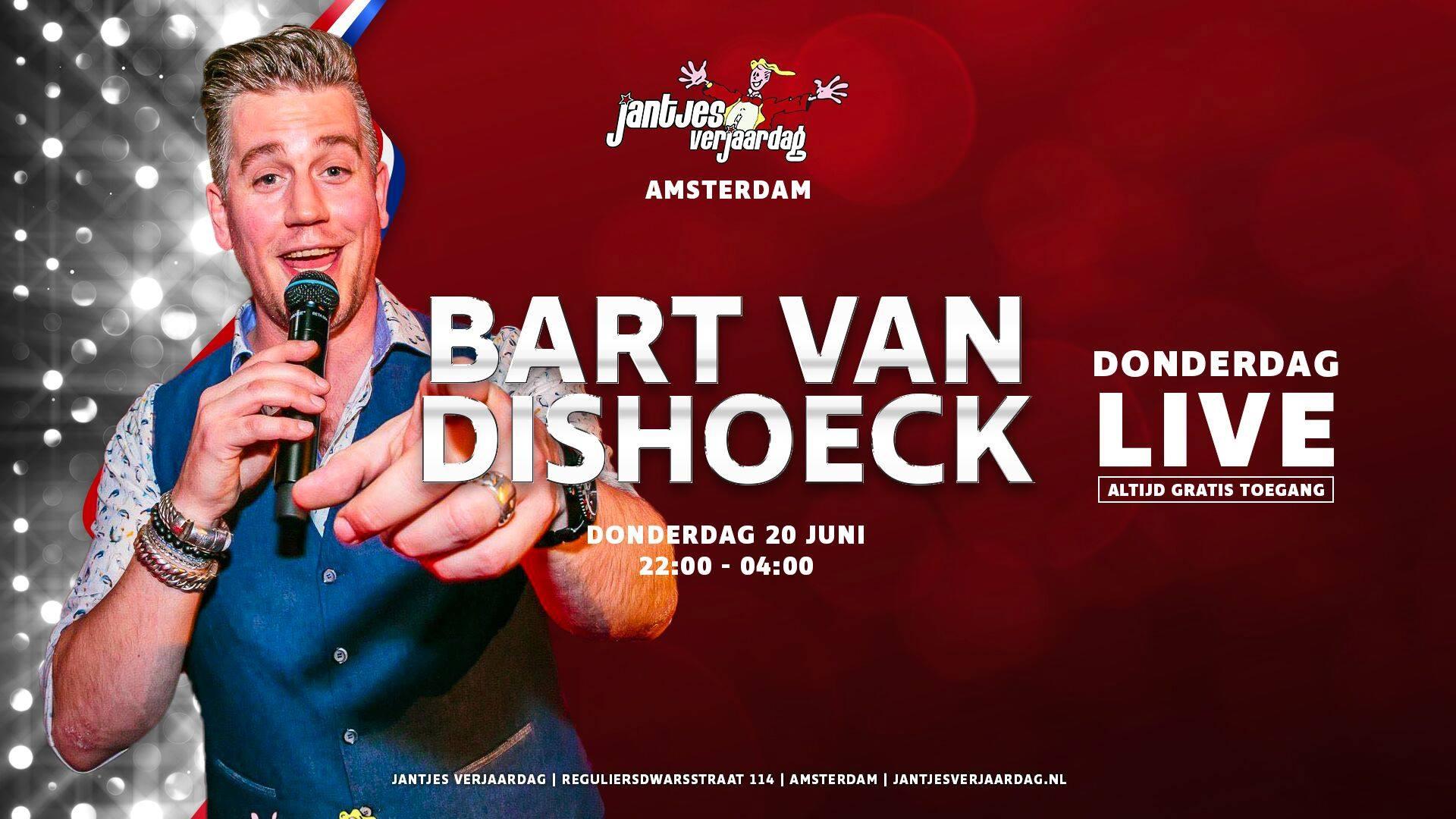 Donderdag LIVE - Bart van Dishoeck