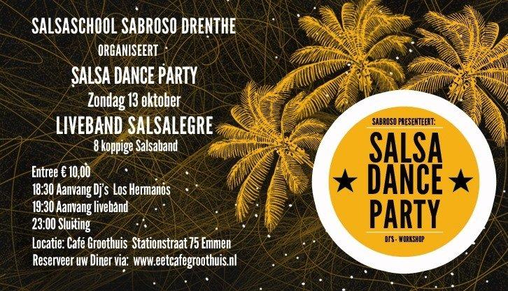 """Salsa Live! Casa Grande con """"Salsalegre"""""""