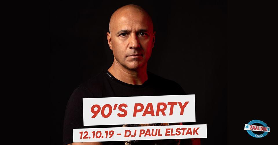 90's Party met DJ Paul Elstak