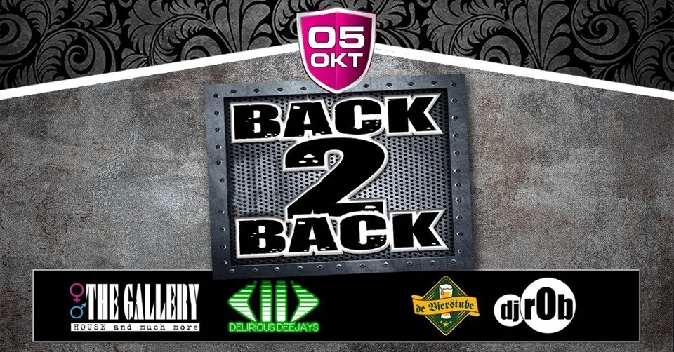 Back2Back: Delirious Deejays