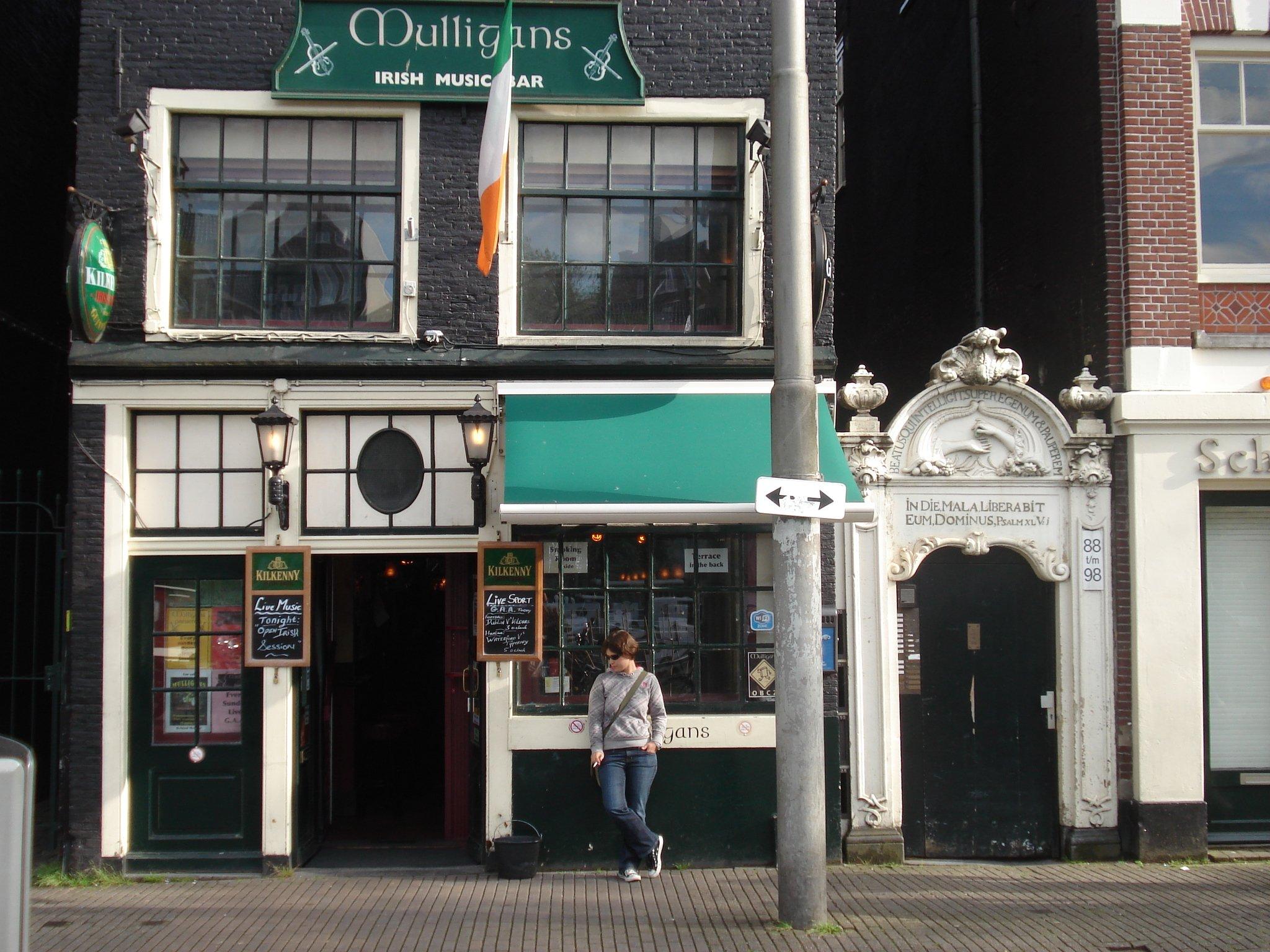 Mulligans Irish Music Bar - A'dam