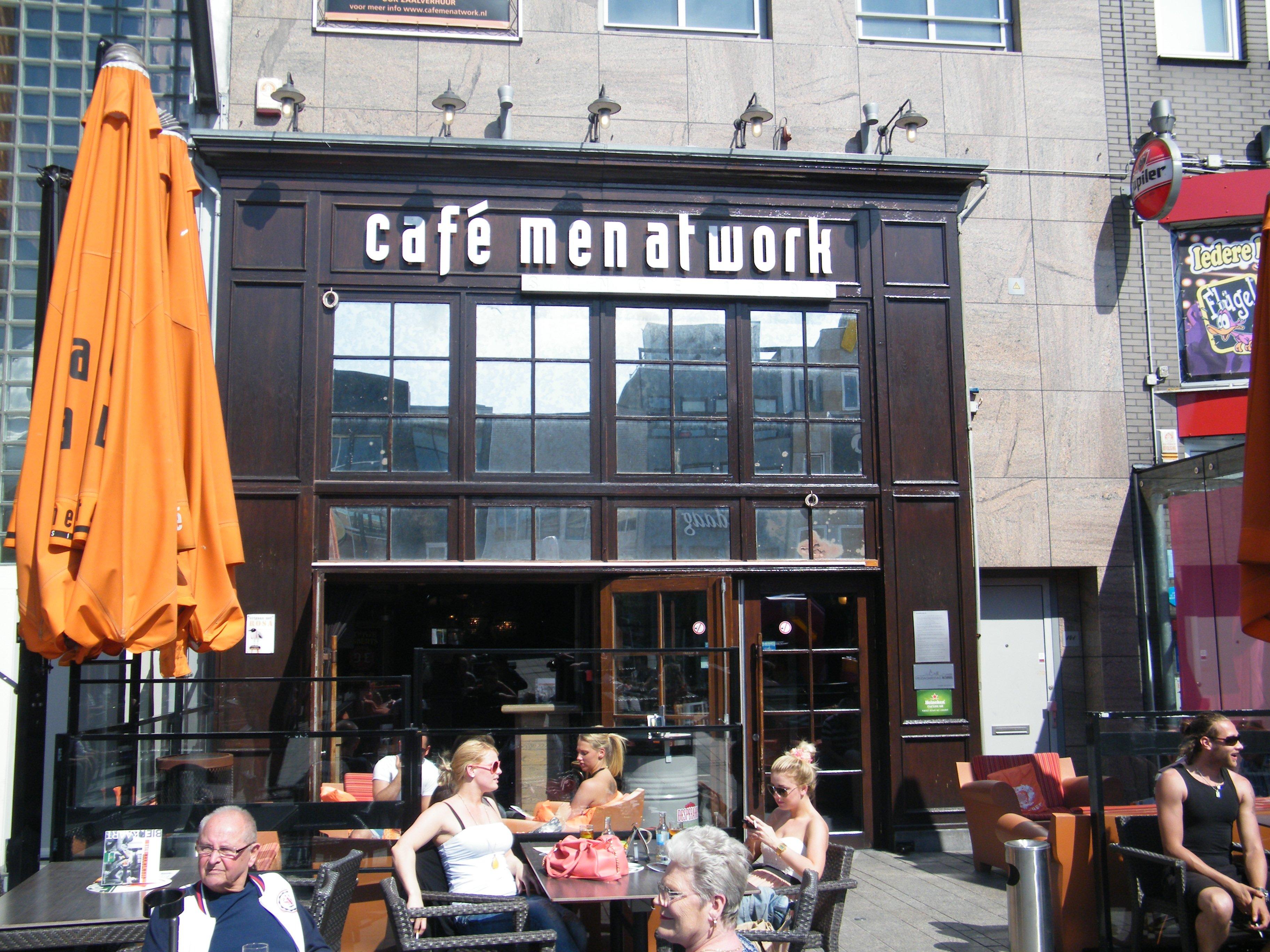 Café Men At Work